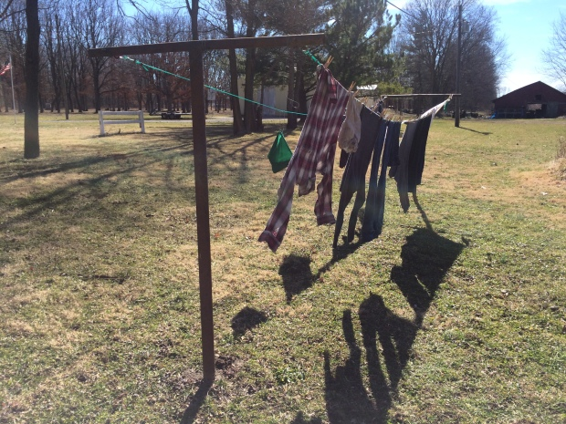 Clothes Drying on the Line